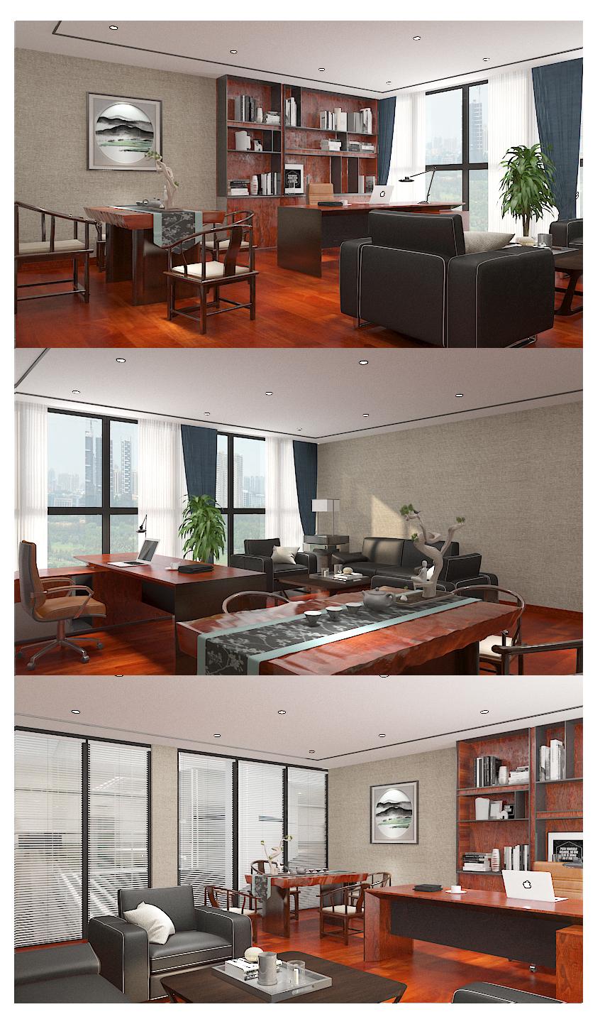 桂林会展中心中建八局项目部项目经理室